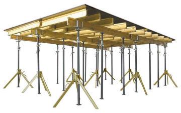 Из каких элементов состоит опалубка для монолитного перекрытия. Как установить и когда снимать стойки и фанеру?