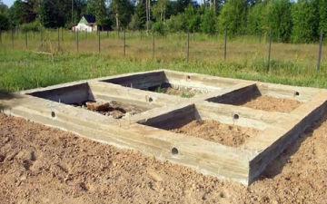 Выбираем и строим фундамент под баню самостоятельно. Какой тип основания лучше выбрать?