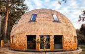 Всё о купольных домах: полезная информация по строительству, планировке, отделке. Сферические дома на фото