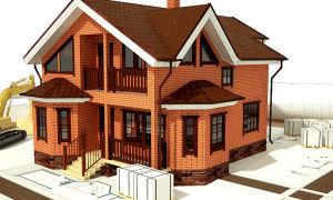 Особенности проектирования и строительства частных домов из кирпича. Сколько стоит одноэтажный кирпичный дом?