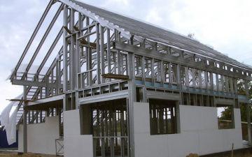 Дом из металлопрофиля: технология и особенности ЛСТК. Что такое стальной каркас и как строить