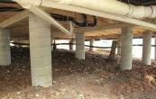 Виды и этапы строительства столбчатых фундаментов своими руками. Как рассчитать опорные столбы?
