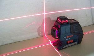 Работа с лазерным уровнем на стройке. Как с помощью современного прибора сделать работу быстрее и легче?