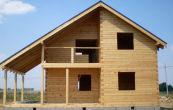 Как строятся дома из профилированного бруса? Сборка сруба и строительство своими руками