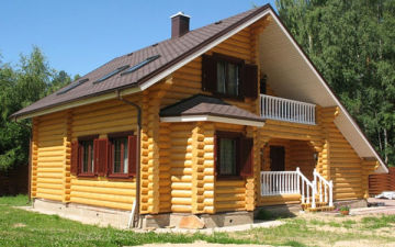 Строим частный дом из бруса – этапы строительства от фундамента до крыши