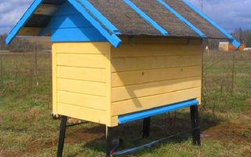 Как построить улей для пчел своими руками?
