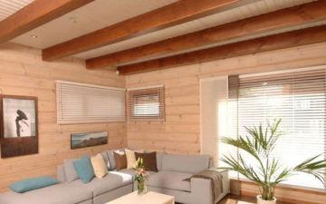 Качественный и красивый потолок в деревянном доме — залог благоприятного климата и уюта в вашем доме. Как и чем сделать своими руками?
