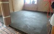 Правильная заливка пола бетоном в частном доме. Калькулятор для расчета пескобетона
