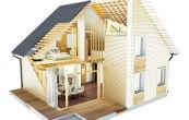 Строим каркасный дом своими руками – секреты и тонкости работы. Щитовой дом этапы строительства