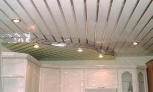 Как сделать пластиковый потолок своими руками? Установка и крепление пластиковых панелей